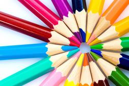 50 colored pencils set for kids adult