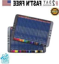 50 Prismacolor Premier Colored Pencils Platinum Soft Core Ar
