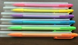 6 Mechanical Pencils Color Body 0.7mm New Free Shipping