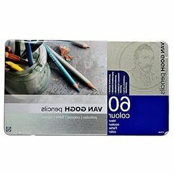 60 color pencil set van Gogh