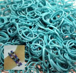 Bluedot Trading 6000-Piece Teal Rubber Band Kids Craft with