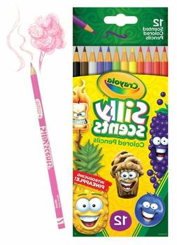 Crayola 68-2112  Silly Scent Pencils, Scented Colored Pencil