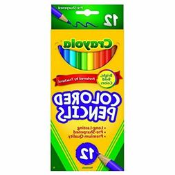 Crayola 68-4012 Colored Pencils, 12-Count, Case of 48, Assor