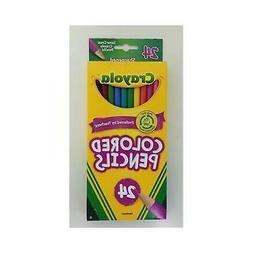 Crayola  Long Colored Pencils 24 Count