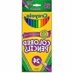 Crayola Colored Pencils 24-Color Set  - 24-Count 2 Packs