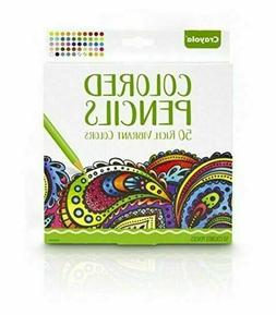 Crayola Adult Coloring Colored Pencils, 50/Pack 68-0050