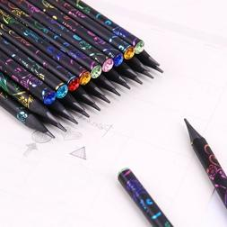 6PCS/Set DIY Pencils Diamond Color Printing Stationery Drawi