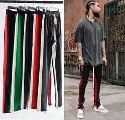 7 <font><b>Colors</b></font> Zipped Ankle Track Pants Waist