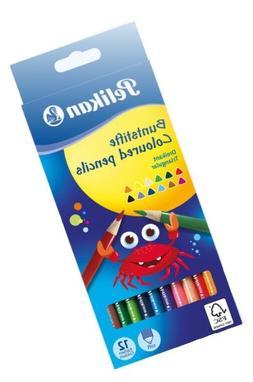 Pelikan 700115 Colored pencils Triangular wooden pencils Pac