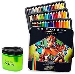 72 pcs Prismacolor Premier Colored Pencils Soft Core and Pen