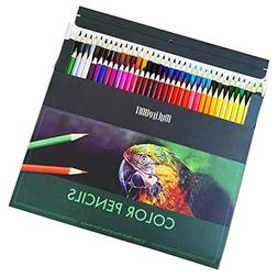 MyLifeUNIT 72 Premium Color Pencils Set for Drawing Coloring