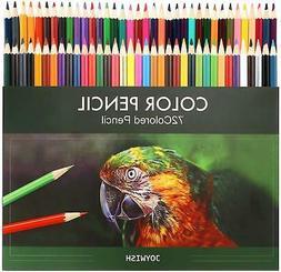 72 Prismacolor Colored Pencils Platinum Soft Core Artist Pai