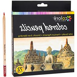 Colore Colored Pencils – 72 Premium Pre-Sharpened Color Pe