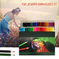 72x Drawing colored pencils set Complete Paint Art color Pen
