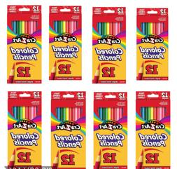 8 Packs Cra-Z-Art Colored Pencils, 12 Count Each