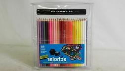 Sanford 92807 Scholar Colored Woodcase Pencils, 48 Assorted