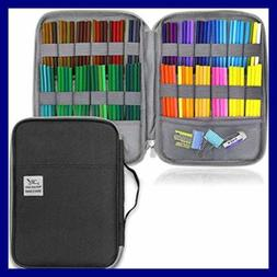 YOUSHARES 96 Slots Colored Pencil Case LARGE Capacity Holder