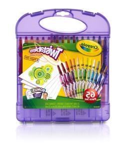 Crayola 04-2705 Mini Twistable Crayons & Paper Set, 65 Piece