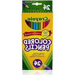 Crayola Colored Pencils Long 24 in a Pack  96 Pencils Total