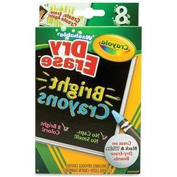 Crayola Dry Erase Bright Crayons 8 CT
