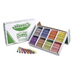 Crayola - Jumbo Classpack Crayons, 25 Each of 8 Colors, 200/