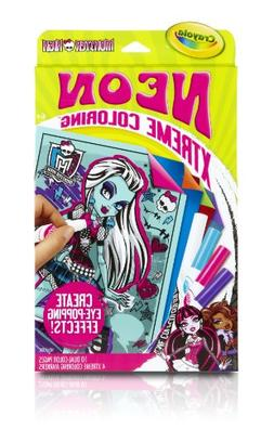 Crayola Neon Extreme Monster High Coloring Kit