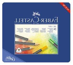 Faber Castell Art GRIP Color Pencils, Tin of 24