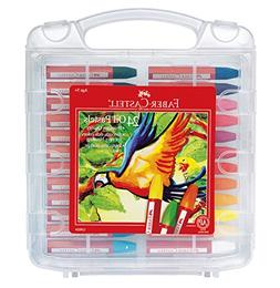 Faber-Castell Blendable Oil Pastels In Durable Storage Case-