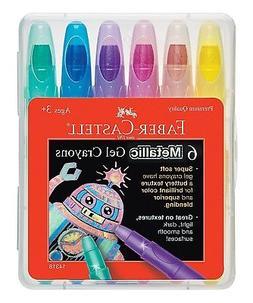 Faber-Castell Childrens Metallic Gel Crayon
