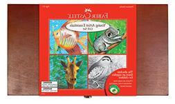 Faber-Castell Young Artist Essentials Gift Set - 64-Piece Pr