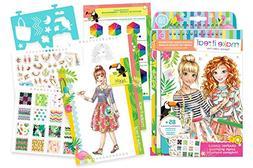 Fashion Design: Graphic Jungle Sketch Book and Stickers Craf