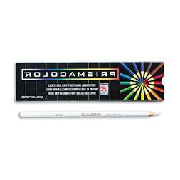 Prismacolor : Premier Colored Pencil, White Lead/Barrel, Doz
