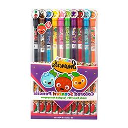 Scentco Colored Smencils 10-pack of Gourmet Scented Color Pe