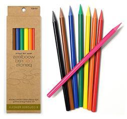 Xonex Woodless Colored Pencils - 8 pack