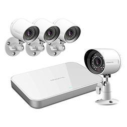 Zmodo Mini Smart PoE -- 4 Channel NVR & 4 x 720p IP Cameras