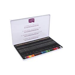 Derwent Academy Watercolor Pencils, Metal Tin, 36 Count