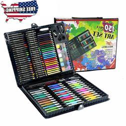 Art Set 150pcs For Kids Teens Drawing Painting Color Pencils