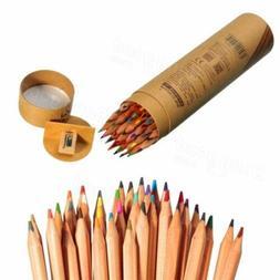 Artist 36 Colors Oil Based Marco Fine Art Drawing Pencils w/