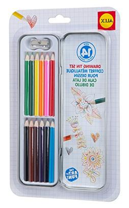 ALEX Toys Artist Studio Drawing Tin Set