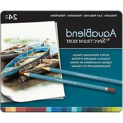 Artist Watercolor Pencils Spectrum Noir  NATURAL 24 Colors S