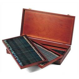 artists colored pencils 4mm core wooden box