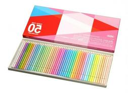 Holbein Artists Pastel Tone Colored Pencils 50 Colors OP936