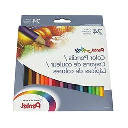 Pentel Arts Color Pencils Assorted Colors 24 Count Sold in p