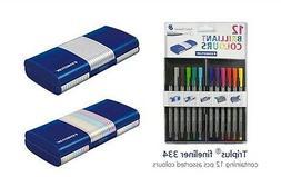 Staedtler Back-to-School 12 Brilliant Multi Colors Triplus 0