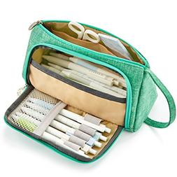 EASTHILL Big Capacity Pencil Pen Case Student Office College