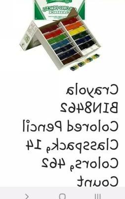 Crayola BIN8462 Colored Pencil Classpack, 14 Colors, 462 Cou