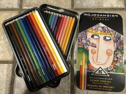 Brand New Prismacolor Premier 24 Colored Pencils - Smooth, R