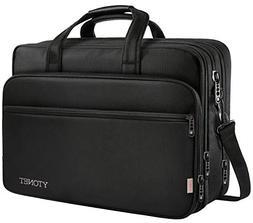 17 inch Laptop Bag, Travel Briefcase with Organizer, Expanda