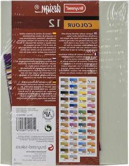 Bruynzeel Design Coloured Pencil Set 12/Pkg   8710141082576