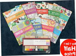 Buy 1 Get 1 50% OFF Studio Series Coloring Books or Colored